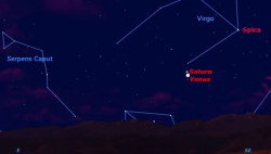 mothernaturenetwork:  Saturn and Venus meet in the dawn sky this weekFor the last month or two, Saturn has been on the far side of the sun, but it emerges this week at dawn right next to Venus.