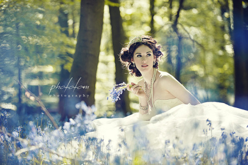 bluebell bridal by Aga Tomaszek on Flickr.