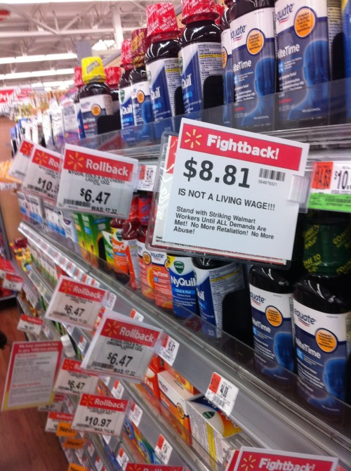 Rollback? No… FIGHTBACK! More culture jamming at Walmart.