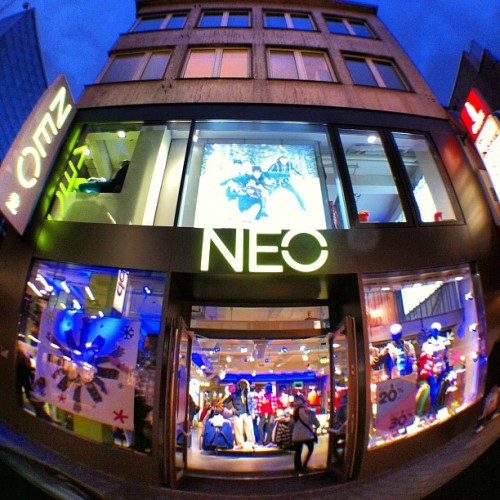 adidasneolabel:  Greetings from our #adidasNEO store in Cologne, Germany! (at adidas NEO Köln)