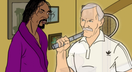 (via See Snoop Dogg's animated Holiday short 'Ebenezer Snoop') Snoop Dogg and Adidas present the cautionary tale Ebenezer Snoop. The animated video features appearances from the likes of David Beckham, Dwight Howard, Derek Rose and even Steve Aoki.  WATCH HERE