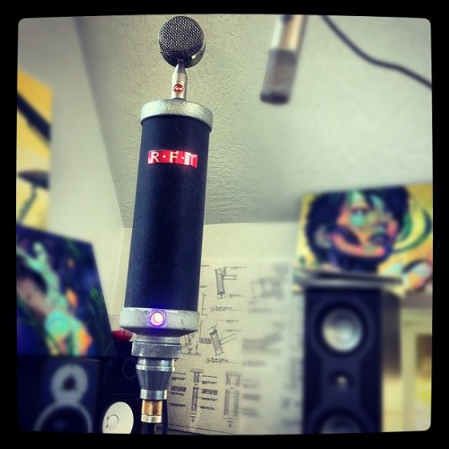 RFT-7151 Bottle Mic Modified with external psu and RED Custom Capsule.