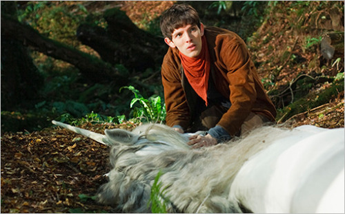 "Waahhh — Merlin is ending, and also that unicorn is not looking so good. At least the show's creators are promising a ""breathtaking"" series finale."