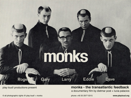 slybacon:  The Monks, Press Photo