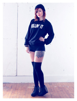 Killin' It sweatshirt by Dance Party Massacre.