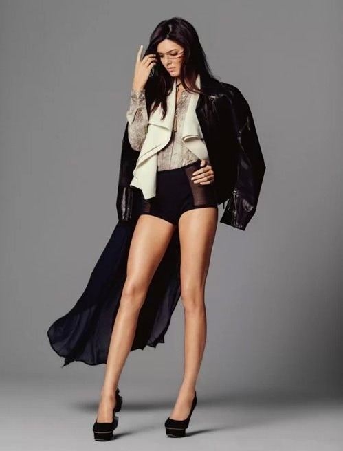 Check out Kendall Jenner and her legs in the latest issue of Miss Teen Vogue Australia. Kendall's sisters immediately took to Twitter to show support. Click the pic for more!