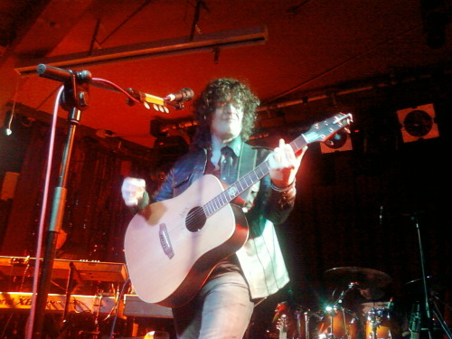 nighttime-birds:  Vincent Cavanagh from Anathema. At Spring and Airbrake n Belfast :)