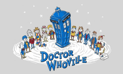 Geek Gear: Doctor Who 'Doctor Whoville' Shirt. Purchase muscle-reflex is GO!