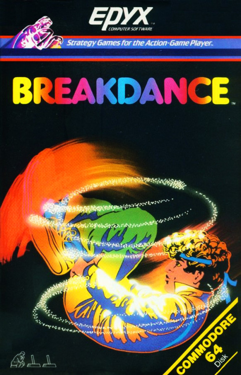 pizzzatime:  notablegamebox: Breakdance (1984) by Epyx on the Commodore 64