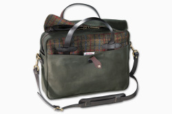 newsin:  Harris Tweed x Filson | Original Briefcase