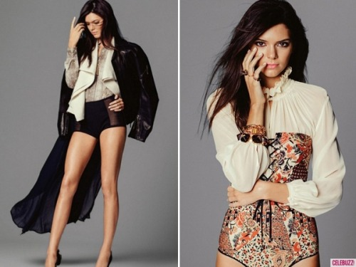 Kendall Jenner looks stunning on the cover of Miss Vogue! See her entire photo shoot on our site!
