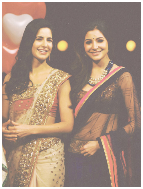 jab-we-blogged:  Katrina and Anusha! :*