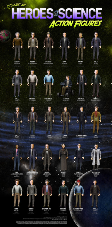 danforth:  Heroes of science action figures