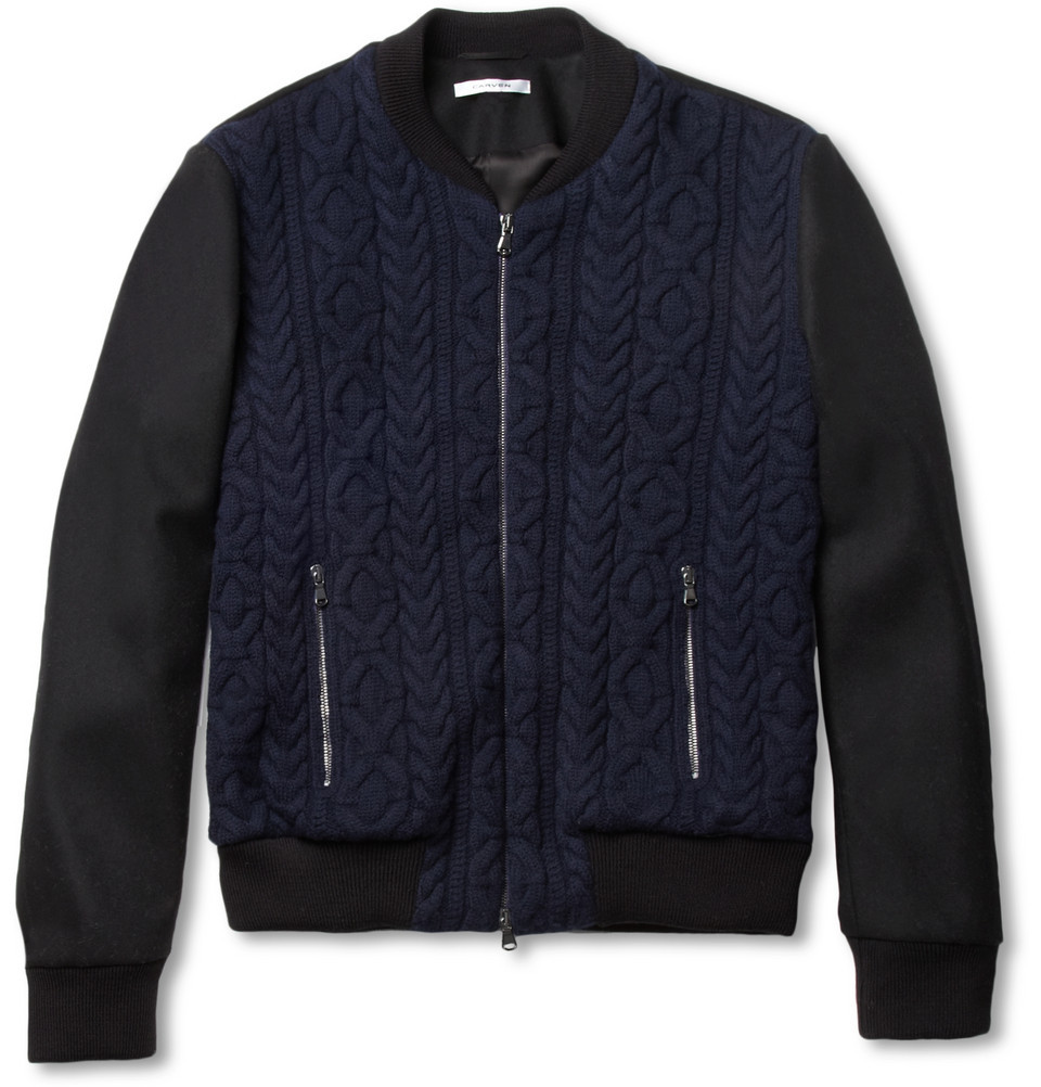textbook:  Carven Bomber, 50% off on Mr. Porter. Shit.