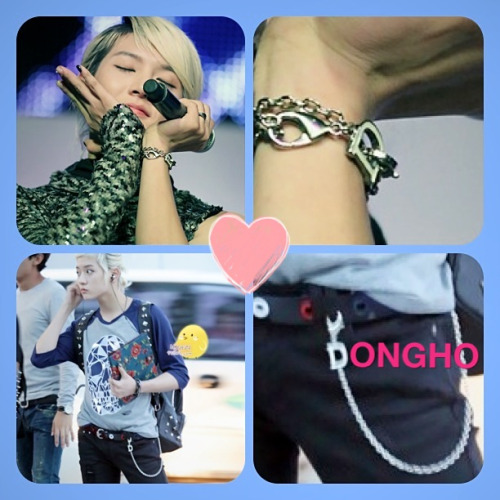 ayumickylove:  ChoiRen your name are M=mingi OR R=ren but your bracelet (&chain) not M or R but it's D!!!! What's you means??? D…. Dongho!!!!