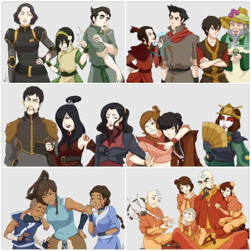 therothwoman:  avatarbianca10:  Avatar: The Last Airbender and The Legend of Korra Characters  babies  that last one not okay