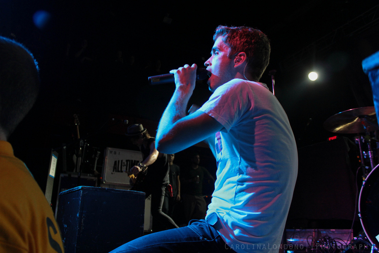 Brian Dales / The Summer Set - Rockshow At The End Of The World Tour / Fort Lauderdale, FL