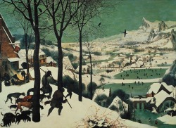 peira:  Pieter Bruegel The Elder:  The Hunters in the Snow (1565)