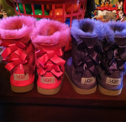 Ugg me, these are adorbs!