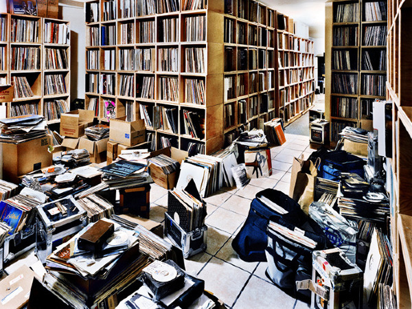 egotripland:  Take a peek inside the record rooms of these world class DJs…: http://bit.ly/S8sovr photos by Christopher Woodcock.