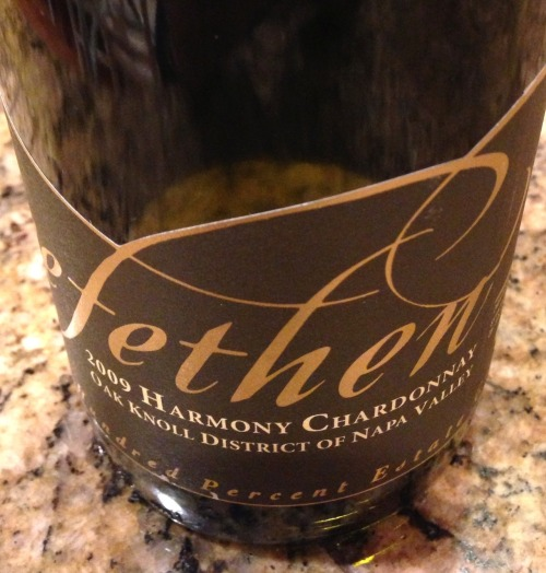 """Harmony"" is Trefethen's reserve chardonnay, and the 2009 vintage is a stunning example of how good California chardonnay can be. Read more >"