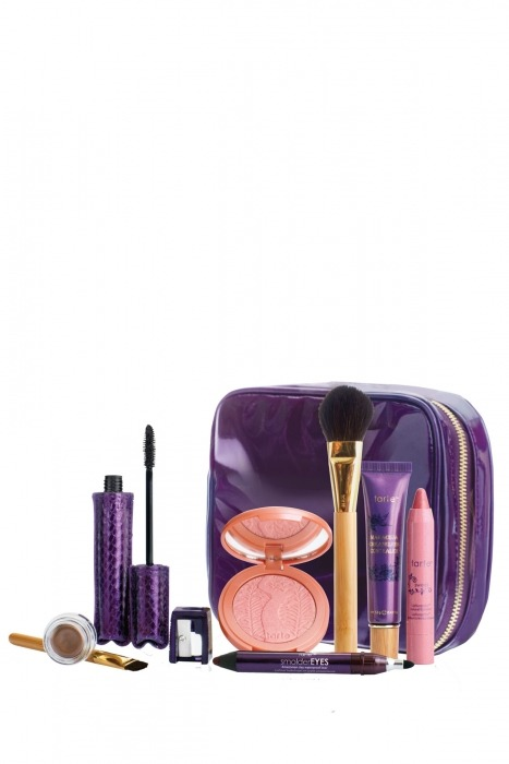 AMAZING Tarte deal!! The glow your way to gorgeous set includes: - full size maracuja creaseless concealer - full size smolderEYES™ Amazonian clay waterproof liner in fig- full size Amazonian clay cream eyeshadow in shimmering taupe- full size LipSurgence™ lip luster in sweet (peachy pink)- full size Amazonian clay 12-hour blush in peaceful- full size lights, camera, lashes!™ 4-in-1 mascara- shadow brush- blush brush a $197 value is now on sale for $33 Even better, use the code CYBER to score 25% off!! Today (Cyber Monday) only! That's only $24.75 for all that full size stuff!  The lip luster itself is already $24! http://tartecosmetics.com/tarte-item-glow-your-way-to-gorgeous-makeup-set Hurry, they're selling FAST