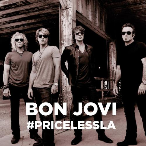 Enter to WIN tickets to see Bon Jovi in concert this weekend in Los Angeles! Click here to sign up NOW!