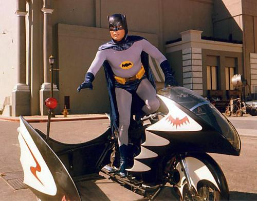 Batman and The Batcycle (1966)