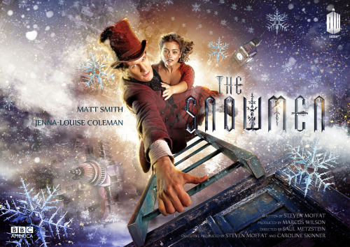 doctorwho:  Here is the poster art for the 2012 Doctor Who Christmas Special: The Snowmen (premieres December 25, 2012 on BBC America, BBC ONE, and SPACE) UPDATE: Here's a biggish version to download for wallpapers and such.