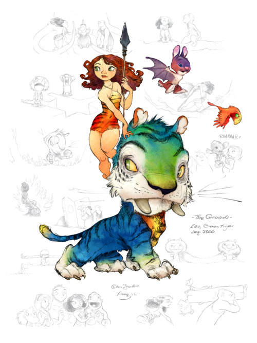 The Croods - Chris Sanders/Arthur Fong