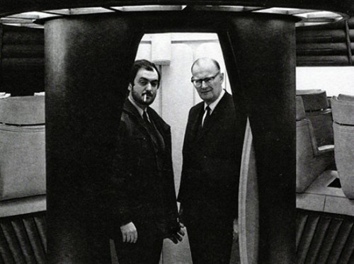 Depicted above Stanley Kubrick (left) and Arthur C. Clarke (right). You may be wondering why we are displaying the minds behind the cult novel and film 2001: A Space Odyssey? Basically, we were just reminded of a great article remembering Arthur Clarke, the celebrated science fiction writer behind the story. The Grasshopper and his Space Odyssey by Jeremy Bernstein hosts early exchanges between Kubrick and Clarke, as well as a journey to the top of a sacred mountain, and a telescopic viewing of the rings of saturn, from Sri Lanka, with Brian Jones of the Rolling Stones. Bernstein has been a physicist, educator, and writer who has chosen topics as disparate as cosmology and the origin of the computer. He has an essay appearing in our next issue on dogs, women, and the analytic philosopher Ludwig Wittgenstein. Check out The Grasshopper and his Space Odyssey from the Summer 2008 issue of The American Scholar.