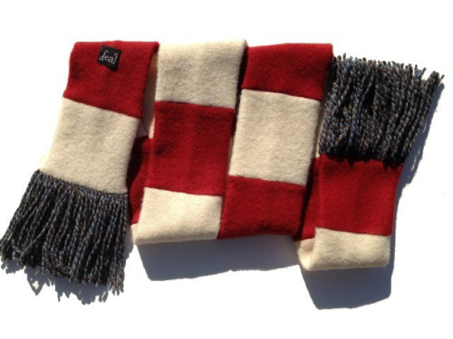 A dozen scarves ready for your holiday needs, now for sale at store.kelleydeal.com!