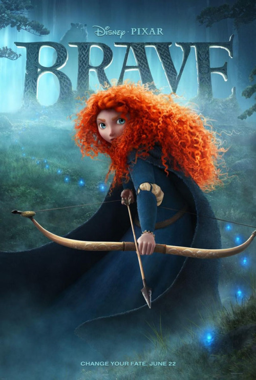 Movies of 2012, #86: Brave Directed by Mark Andrews and Brenda Chapman, starring Kelly Macdonald
