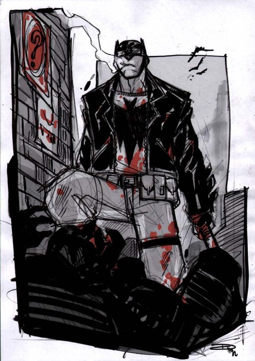 xombiedirge:  Batman Rockabilly Universe byDenis Medri/Blog