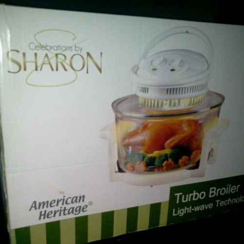 I won a turbo broiler…yey
