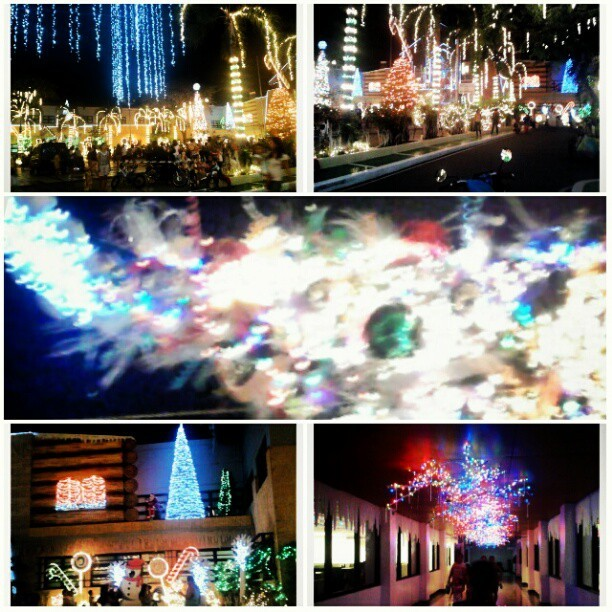marjiecrisis:  #Christmas #Muntinlupa #lights - @marjiecrisis- #webstagram