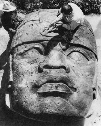 Olmec Head discovery… Africans in North America before Columbus…