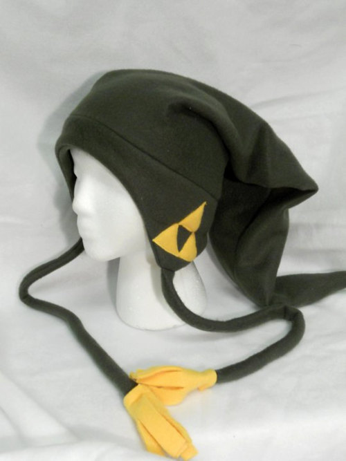 thenintendard:  Legend of Zelda Link Fleece Hat Made by Higginstuff   $20.00 USD 8 available