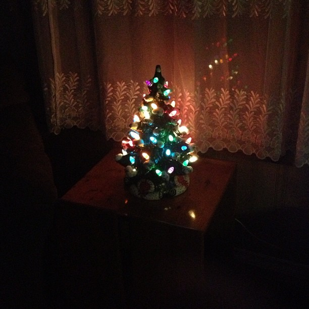 My #christmastree this year. #smallchristmas