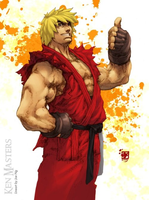 xombiedirge:  Ken Masters by Joe Ng / Christabel Sevilla
