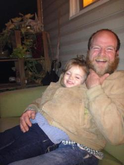 daughterofthebeard:  Put me in a papoose Daddy!