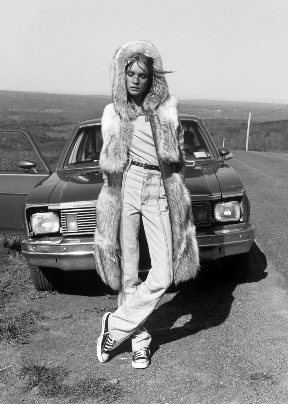 "dormanta:  Natalia Vodianova in ""Lost Highway"" by Carter Smith for Vogue Japan November 2002"