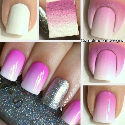 Check out simplenailartdesigns s.'s amazingly easy ombre nail art tutorial!
