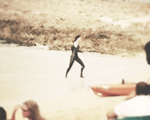 Jennifer on the set of Catching Fire x