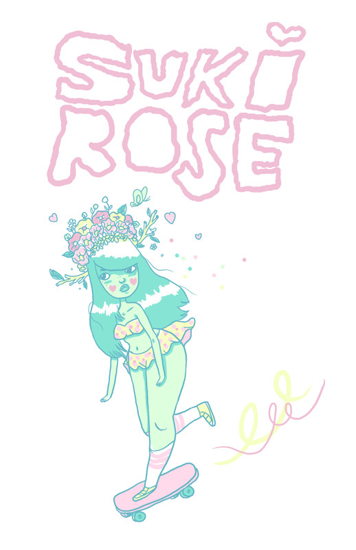 melstringer:  WIN a SUKI ROSE A4 print by reblogging this post. A winner will be drawn on Nov, 30 2012! Good luck!