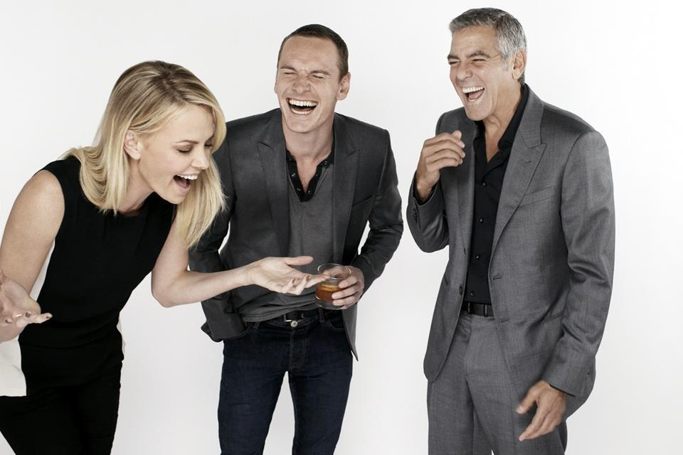 Charlize Theron, Michael Fassbender and George Clooney