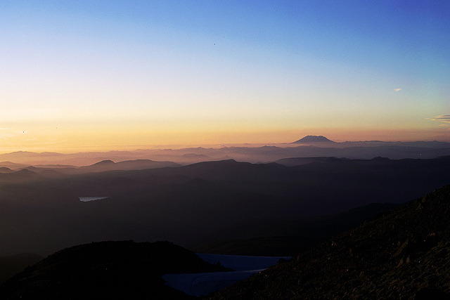 Sunset from Barret Spur by Josh Boes on Flickr.