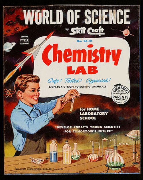 imajoshosaurus:  World Of Science Chemistry Lab