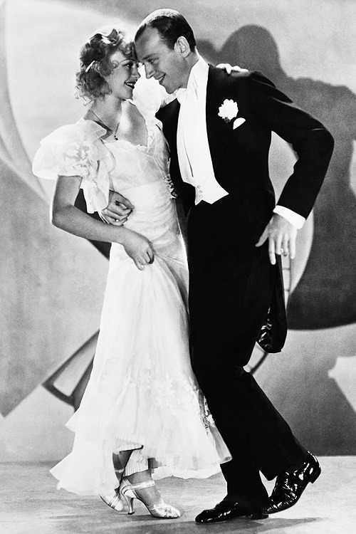 Ginger Rogers & Fred Astaire in 'Flying Down to Rio', 1933.