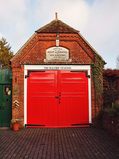 ysvoice:  | ♕ |  19th c. Old Fire Station - Alresford, Hampshire  | by © Anguskirk